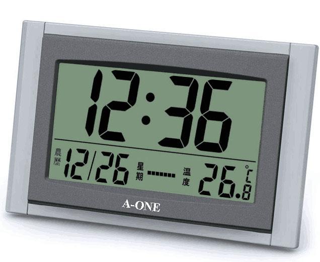 TG-070 LCD座掛鐘 1