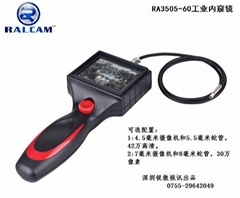 Video industrial endoscope with 3.5in monitor