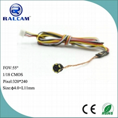 Ralcam 1/18 cmos sensor mini cctv camera split type camera