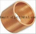 Film perforated heating needle roller