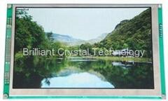 "7"" TFT LCD module 800*480 lattice"