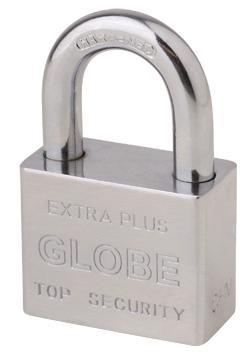 地球牌抛光铜锁 2