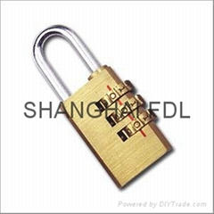combinaiton padlock