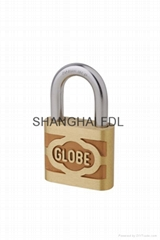 地球牌铜挂锁