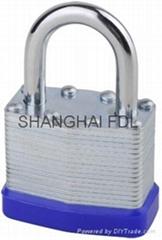 laminated padlock