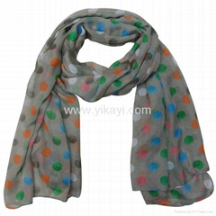 polyester voile scarf wi