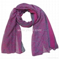 polyester voile scarf