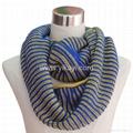 fashion acrylic loop scarf