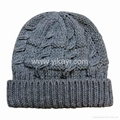 ladies fashion knitted cap
