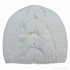 ladies fashion knit hat