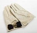 ladies goatskin leather gloves
