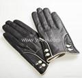 ladies sheepskin leather gloves