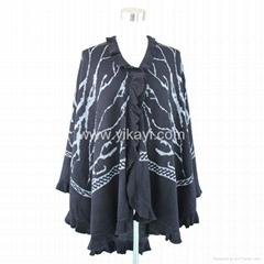 fashion acrylic shawl wi