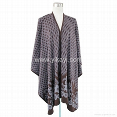 fashion acrylic shawl in