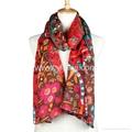 fashion viscose printed scarf