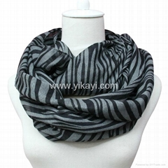 cotton voile loop scarf