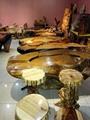 金絲楠木大板 原木大板茶桌 紅