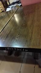 雞翅木平板 原木大板茶桌 紅木辦公桌 客廳接待大班台 實木傢具