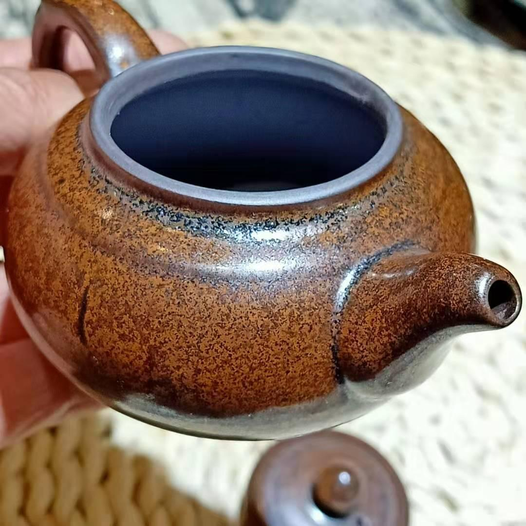 建盞龍窯柴燒茶壺 3