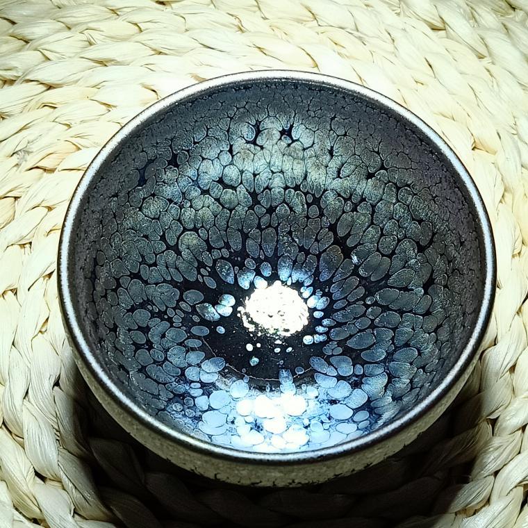 建陽建盞油滴兔毫鷓鴣鐵胎茶碗茶壺柴燒茶盞陶瓷茶杯套裝功夫茶具 1