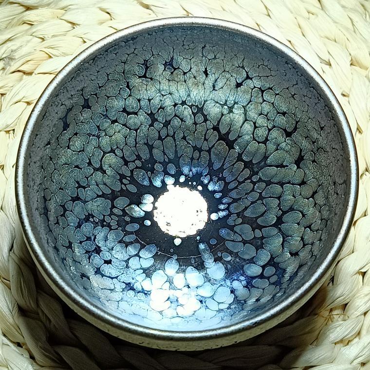 建陽建盞油滴兔毫鷓鴣鐵胎茶碗茶壺柴燒茶盞陶瓷茶杯套裝功夫茶具 3
