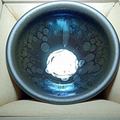 建陽建盞油滴兔毫鷓鴣鐵胎柴燒茶盞陶瓷茶杯套裝功夫茶具商務禮物
