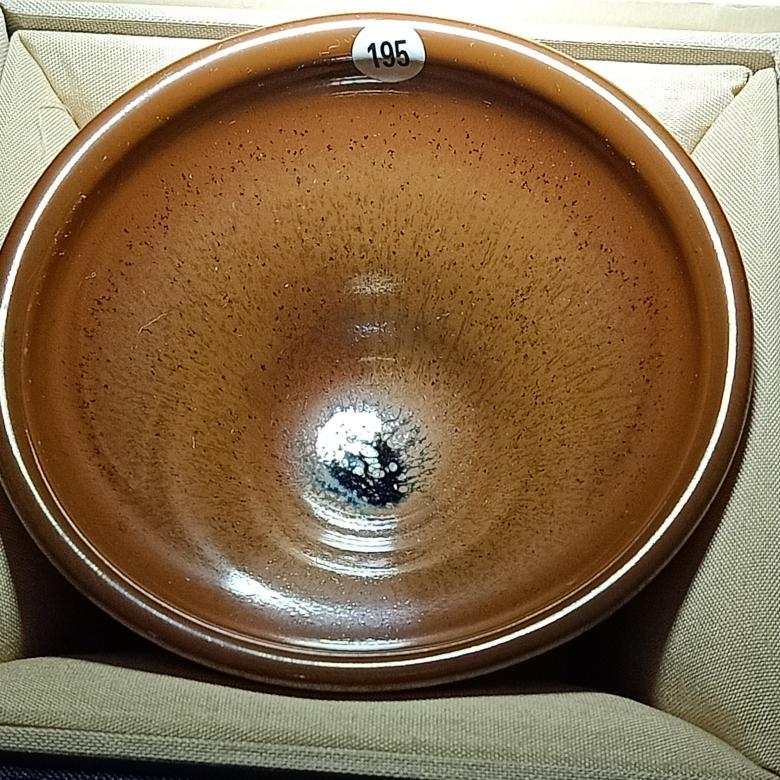 建陽建盞油滴兔毫鷓鴣鐵胎陶瓷茶杯套裝功夫茶具商務禮物柴燒茶盞 1