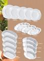 Tableware, porcelain 4 pcs breakfast set, ceramic ware 3