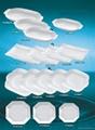 Tableware, porcelain 4 pcs breakfast set, ceramic ware 5
