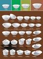 Porcelain plate,Ceramic plate, Soup plate,tableware,chinaware,dinnerware. 2