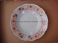 9' soup plate,porcelain soup plate, ceramic plate,porcelain plate, dinnerware 2