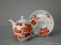 各种陶瓷茶具.陶瓷壶.茶碗.茶