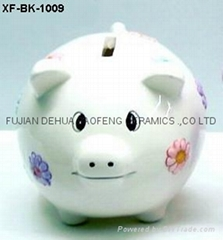 陶瓷储钱罐