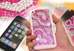 iPhone crystal sticker skin
