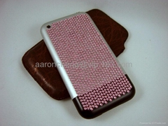 iPhone crystal stickers & Crystal bling cell phone