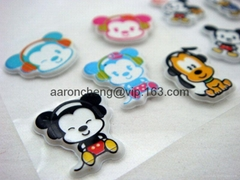 Foam Sticker& eva foam sticker & sponge foam sticker & puffy sticker