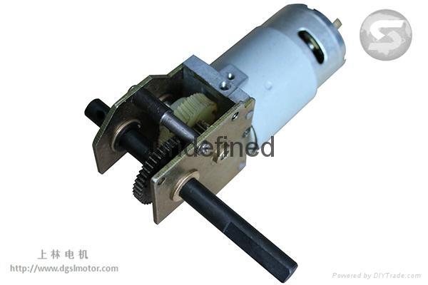 Dc Worm Gear Motor 48gf555 Sl China Manufacturer