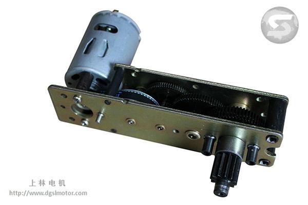 Window device gear motor electric actuator motor 123gf for Electric motor for skylight