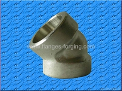 2-Socket Welding  Elbow Deg 45 Deg