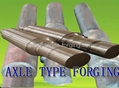 AXLE TYPE FORGING