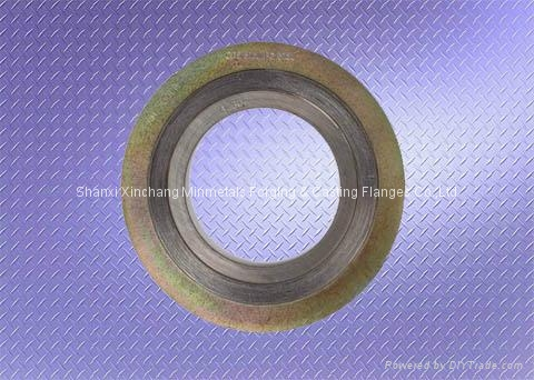 Metal graphite winding flanges gasket 1 1