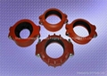 Ductile iron grooved fitting 2
