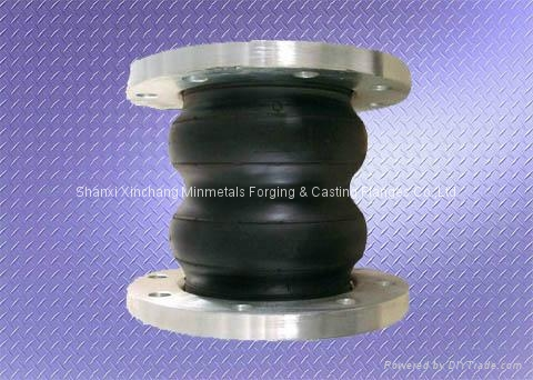 DOUBLE SPHERE RUBBER EXPANSION JOINT 1