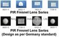 PIR Fresnel Lens
