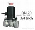 5 years quality guarantee Natural gas solenoid va  e  4