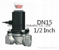 12V Gas Valve Locking G1/2 G3/4 DN20