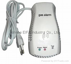 Stand alone natural gas alarm