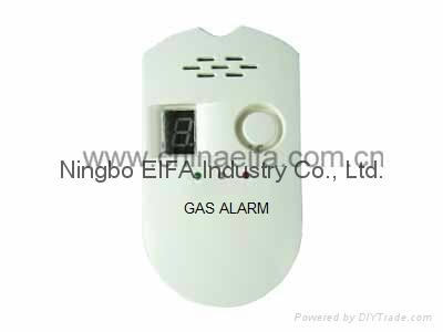 2 in 1 LPG & NG gas alarm with LED show