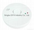 Carbon monoxide & smoke alarm with 9V