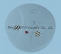 Carbon monoxide & smoke alarm with 9V battery back up EN50291